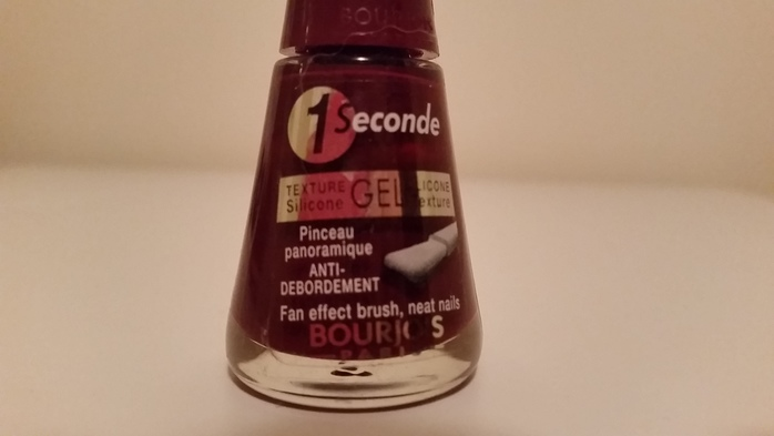 1 seconde nail polish bourjois