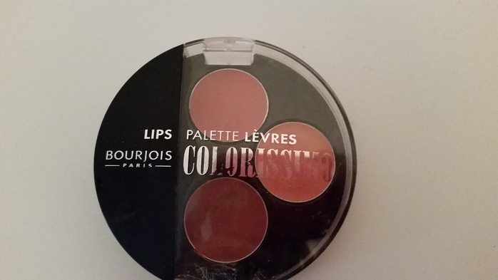 bourjois colorissimo lip palette dandy
