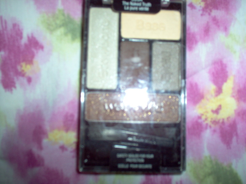 Eyeshadow  - Make-Up Review:  Wet n Wild Eyeshadow:  The Naked Truth