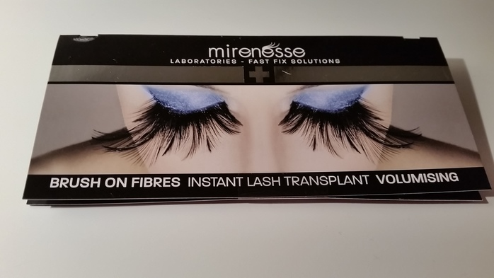 mirenesse brush on fibres mascara