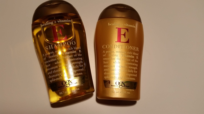ogx vitamin e shampoo and conditioner